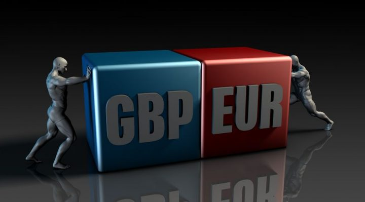 51542716 Gbp Eur Currency Pair Or British Pound Vs European Euro